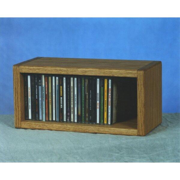100 Series 32 CD Multimedia Tabletop Storage Rack