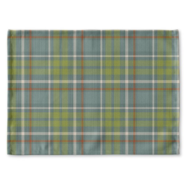 Warner Plaid Placemat by Loon Peak