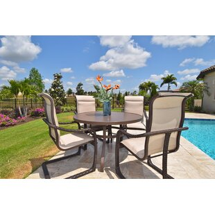 Palms 5 Piece Dining Set By Outdoor Masterpiece