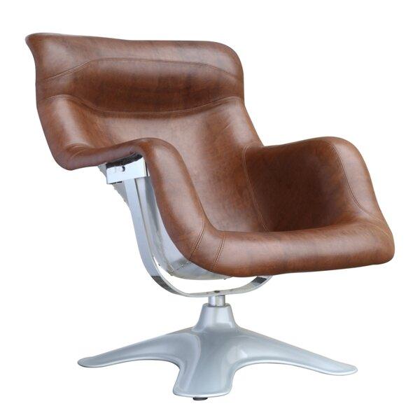 Bridgeport Swivel Lounge Chair by Brayden Studio