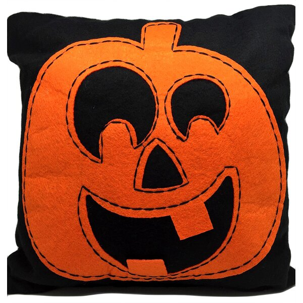 Betio Pumpkin Throw Pillow (Set of 2) by The Holiday Aisle