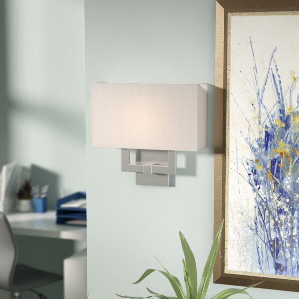 Clivden 2-Light Wall Sconce by Wade Logan