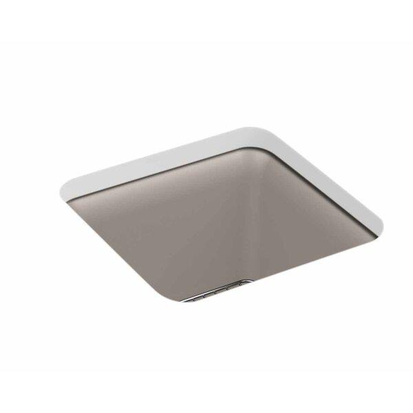 Cairn® 15 L x 15 W Neoroc® Undermount Bar Sink by Kohler