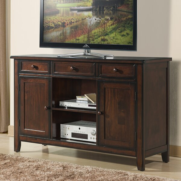 Graff Solid Wood TV Stand For TVs Up To 65 Inches By Red Barrel Studio