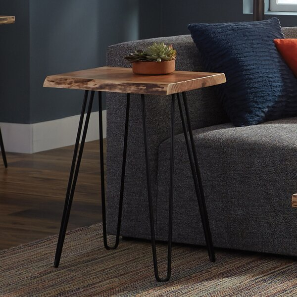 Tindle End Table by Union Rustic