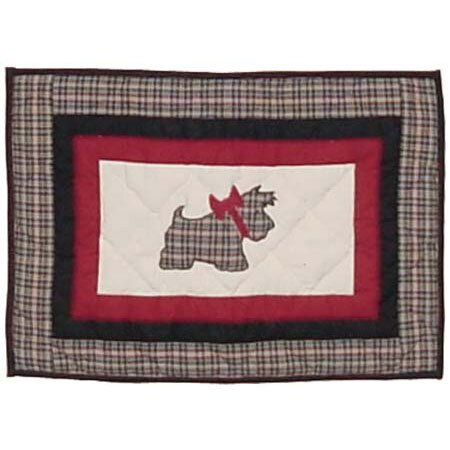 Scottie Placemat (Set of 4) by Patch Magic