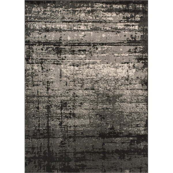 Coolidge Modern Distressed Gray Area Rug by Trent Austin Design