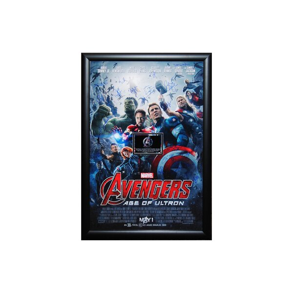Avengers   Age of Ultron  Autographed Movie Poster Framed Wall Art by LuxeWest