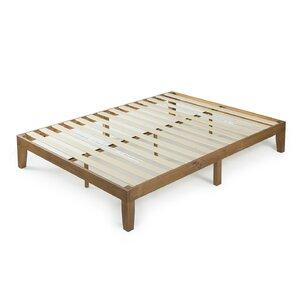 wood platform bed