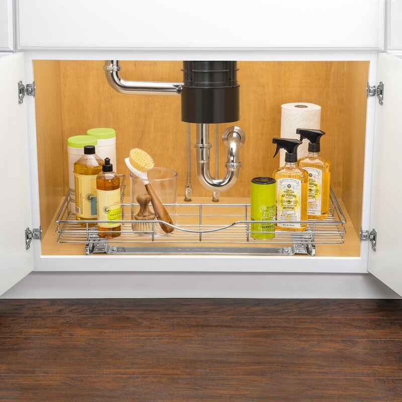 Charmant Professional® U Shaped Slide Out Under Sink Pull Out Drawer