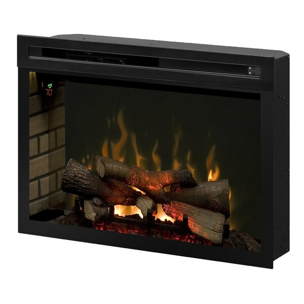 Multi-Fire XD Wall Mounted Electric Fireplace Insert by Dimplex