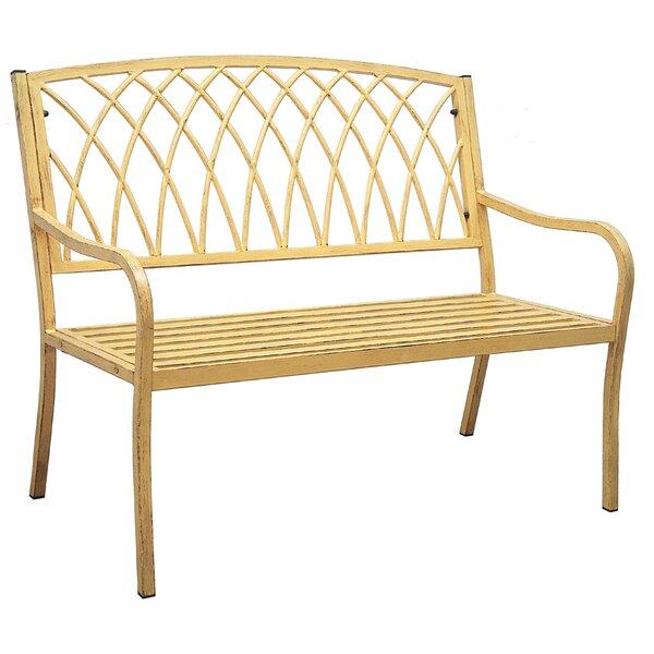 Alvis Aluminum Garden Bench by Ophelia & Co.