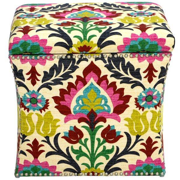 Fleurette Storage Ottoman by Mistana