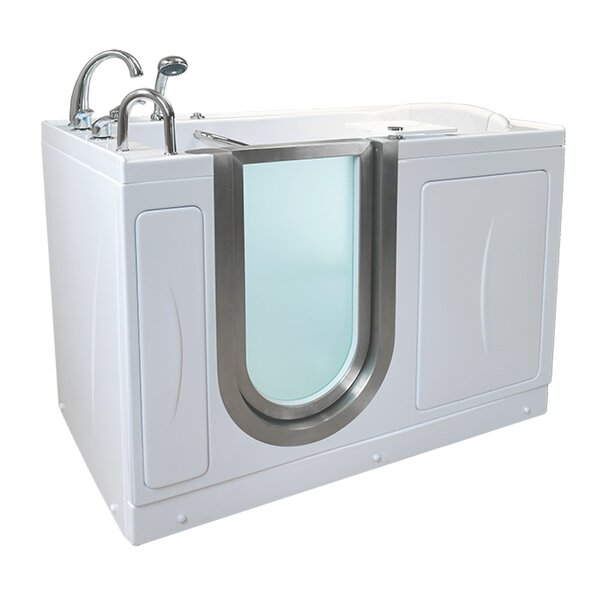 Elite 52.25 x 29.75 Walk-In Bathtub by Ella Walk In Baths