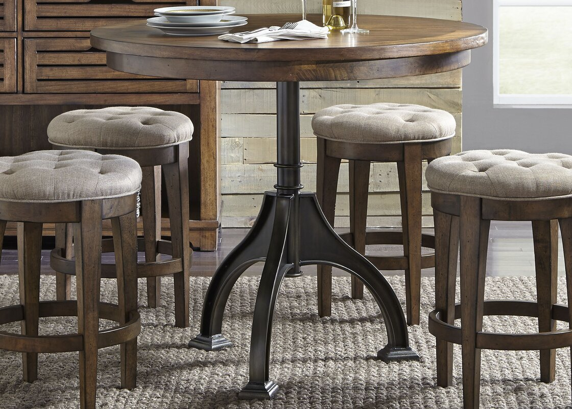 Williston Forge Tucker 5 Piece Dining Table Set & Reviews   Wayfair