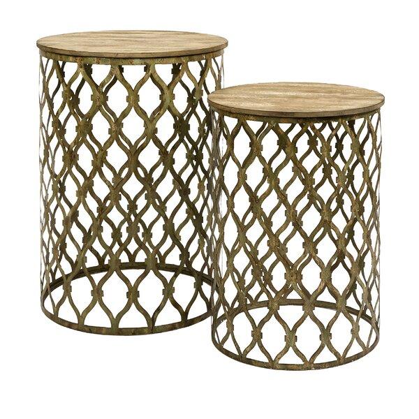 Ari 2 Piece Nesting Tables by Brayden Studio