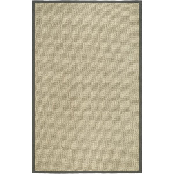 Richmond Hand-Woven Marble/Gray Area Rug by Beachcrest Home