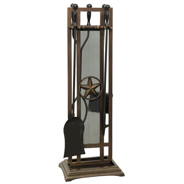Belisario 5 Piece Steel Fireplace Tool Set by Ornamental Designs