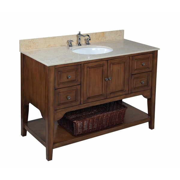 Washington 48 Single Bathroom Vanity Set by Kitchen Bath Collection