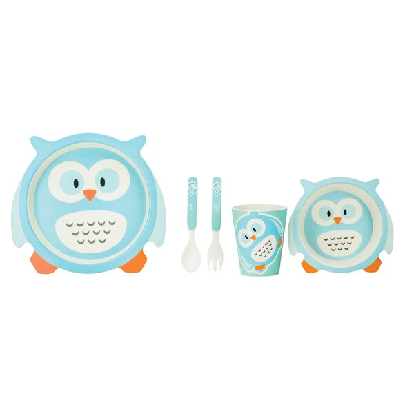 Culebra Kids 5 Piece Dinnerware Set, Service for 1 by Harriet Bee