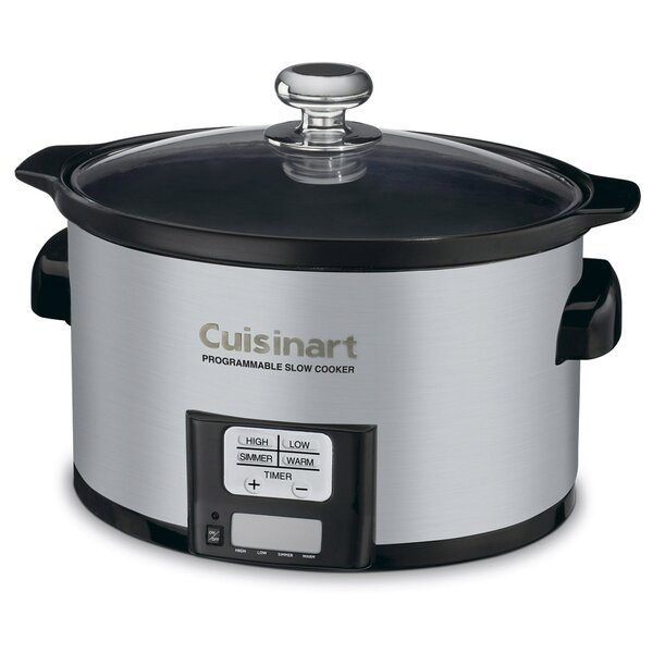 3.5-Qt. Programmable Slow Cooker by Cuisinart