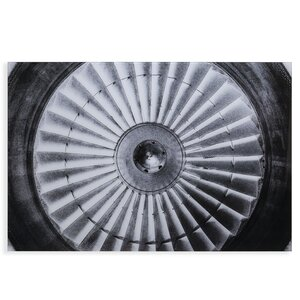 'Jet Engine' Photographic Print by 17 Stories