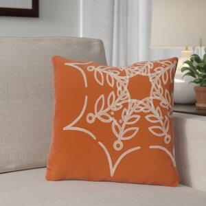 Spider Web Outdoor Throw Pillow