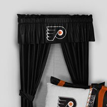 NHL Philadelphia Flyers 88 Curtain Valance by Sports Coverage Inc.