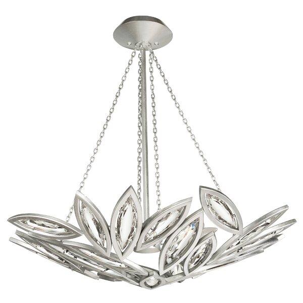 Marquise 8 - Light Unique / Statement Geometric Chandelier By Fine Art Lamps