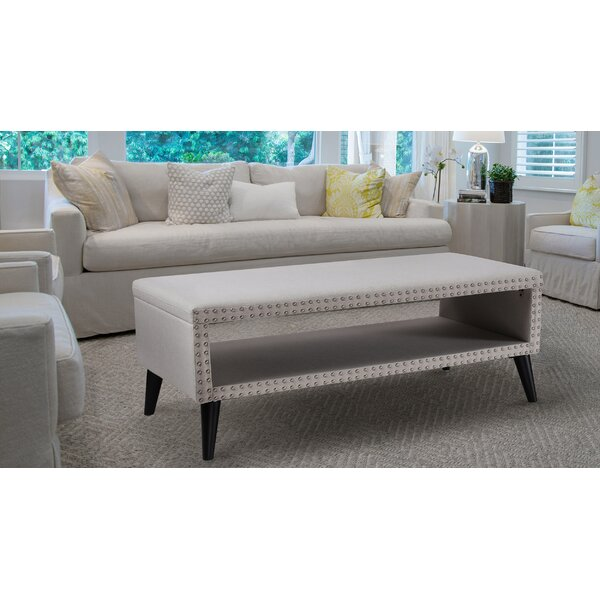 Holmgren Entryway Upholstered Bench by Alcott Hill