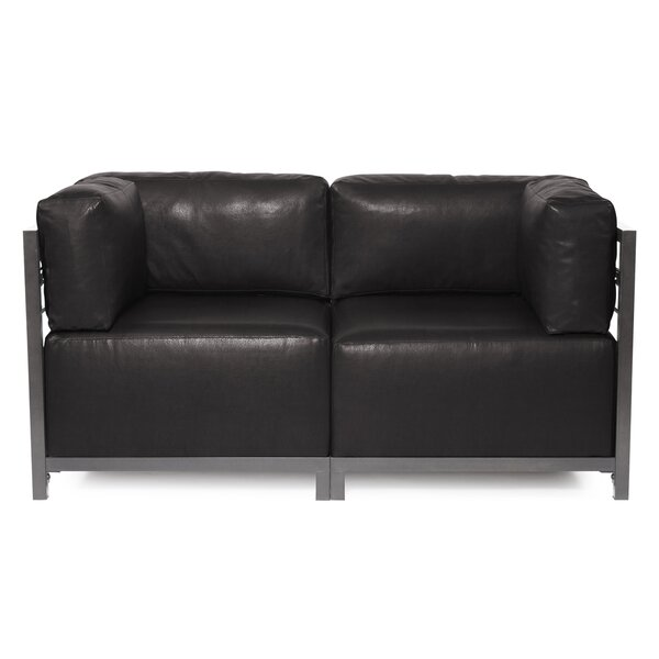 Woodsen Avanti Sectional Loveseat by Latitude Run