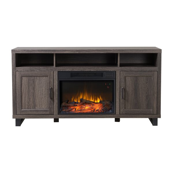 Dijon Media Electric Fireplace TV Stand by Homestar