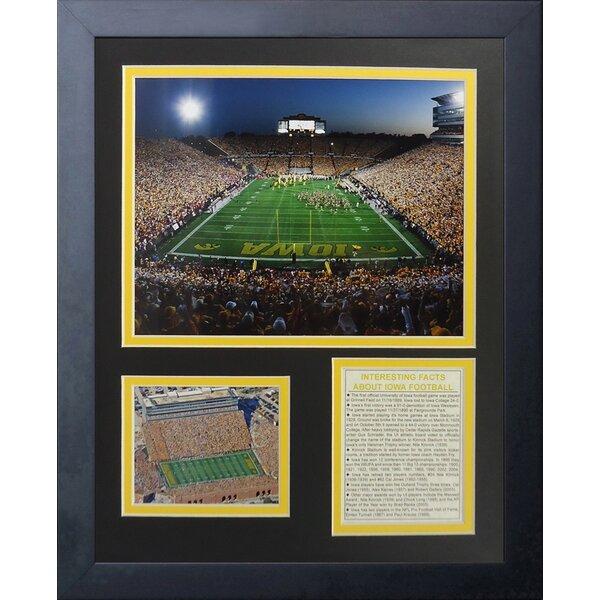 Iowa Hawkeyes Kinnick Stadium Framed Memorabilia by Legends Never Die