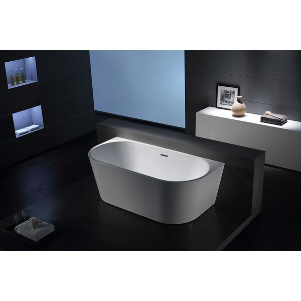 Sao Paolo 67 x 32 Freestanding Soaking Bathtub by Jade Bath