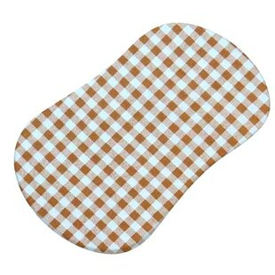 Online Reviews Gingham Check Fitted Bassinet Sheet BySheetworld