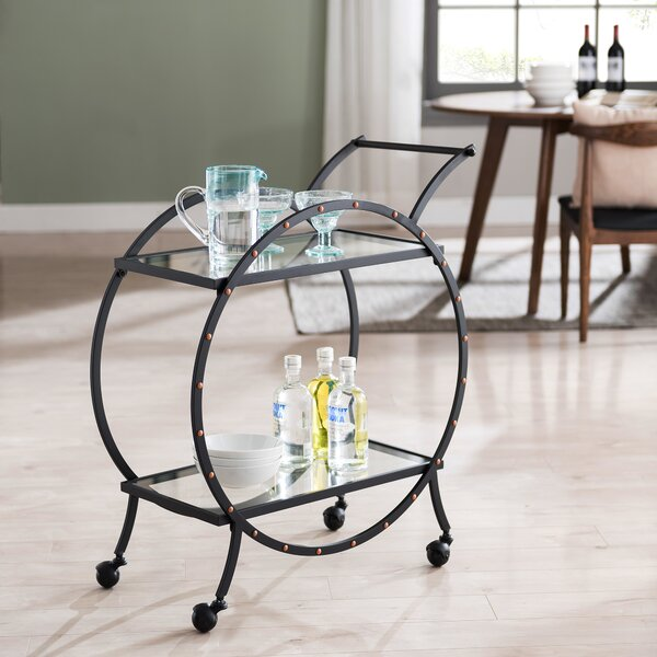 Hiro Art Deco Bar Cart by Mercer41