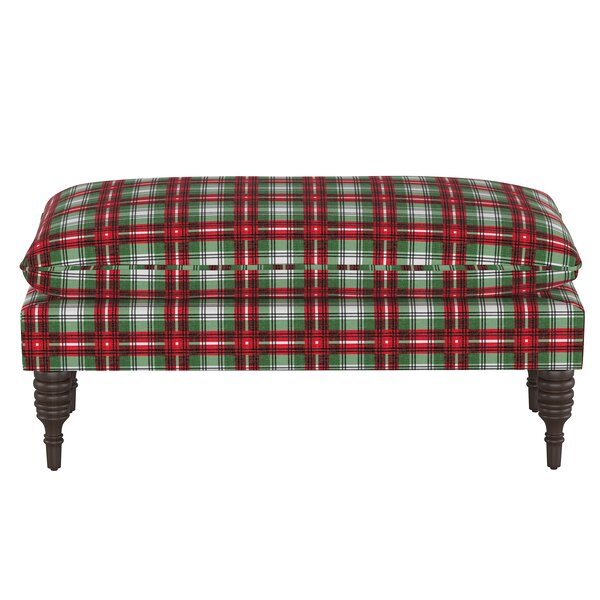 Swan Pillowtop Upholstered Bench by Loon Peak