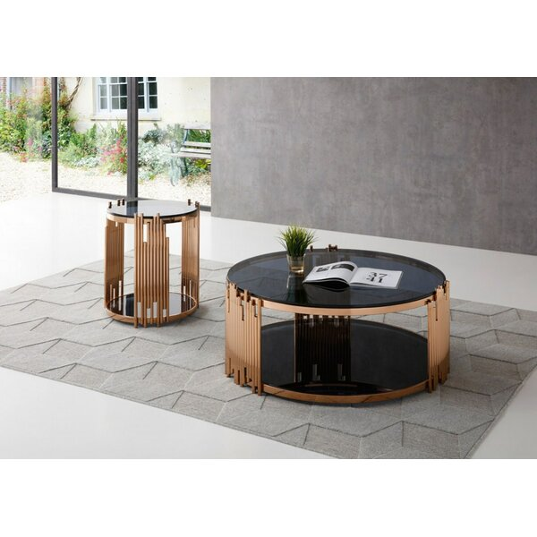 Humnoke Bryce 2 Piece Coffee Table Set by Everly Quinn