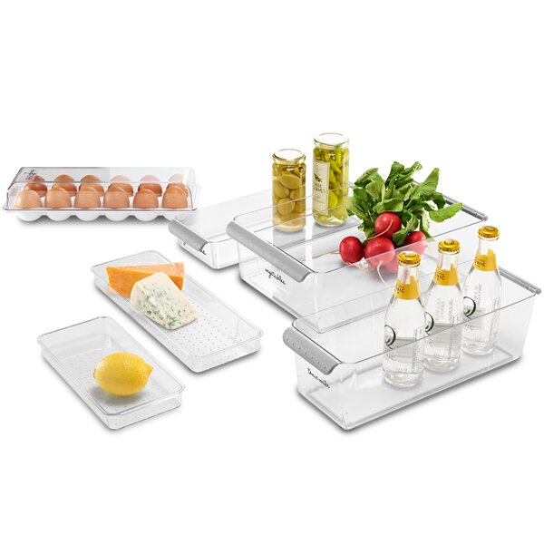 Fridge 6 Container Food Storage Set by Rebrilliant