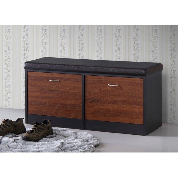 Spicer Wood Storage Bench by Ebern Designs