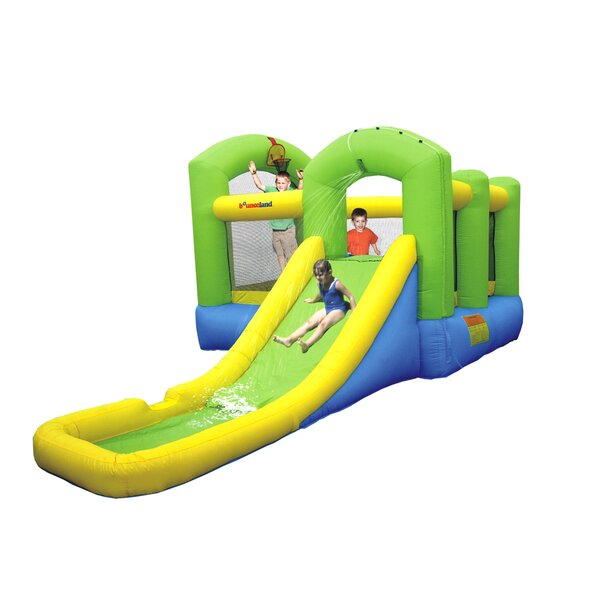 Wet or Dry Island Bounce House by Bounceland