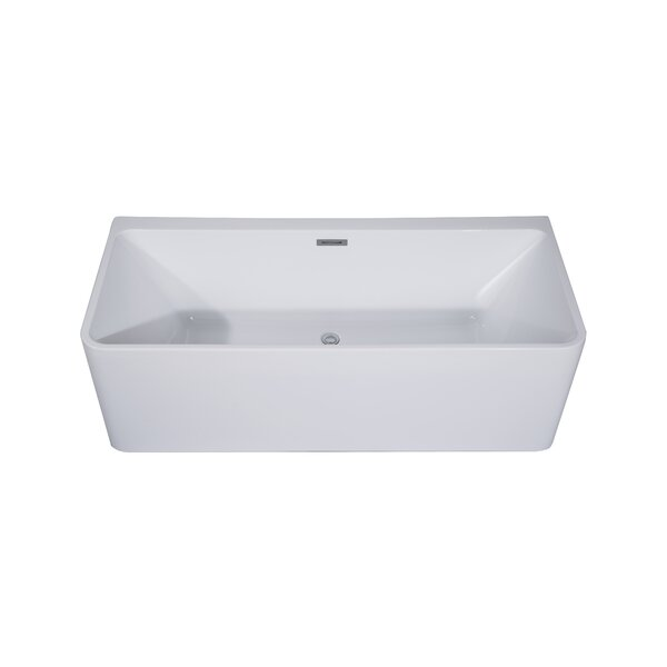 Treviso 29 x 67 Freestanding Soaking Bathtub by Dyconn Faucet