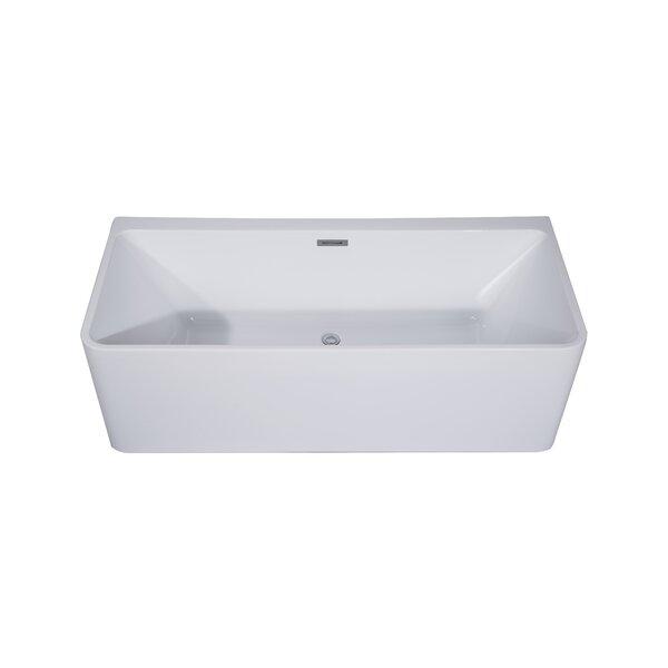 Treviso 29 x 67 Freestanding Soaking Bathtub by Dyconn Faucet