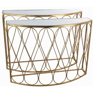 Humphery 2 Piece Console Table Set By Mercer41