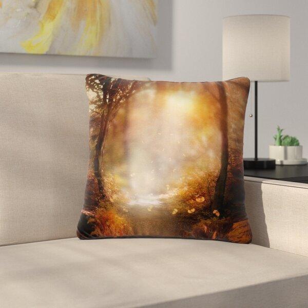 Viviana Gonzalez Make It Happen Outdoor Throw Pillow by East Urban Home