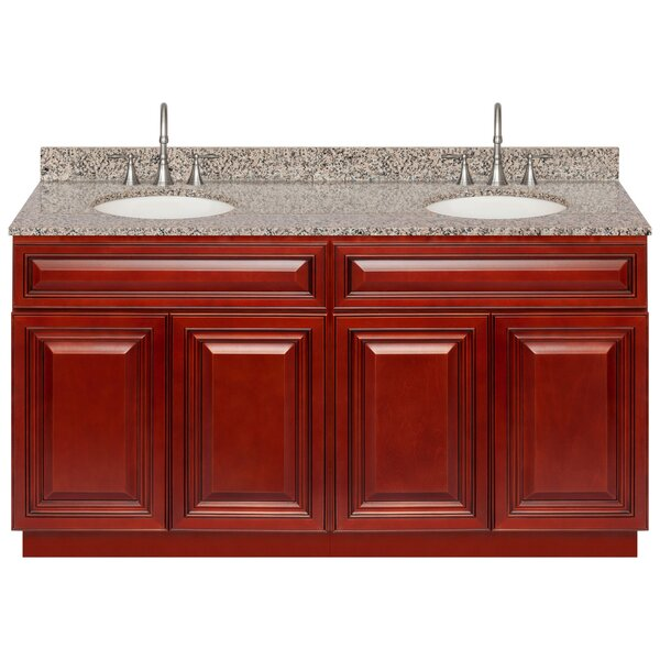 Lodd 60 Double Bathroom Vanity Set by Charlton Home