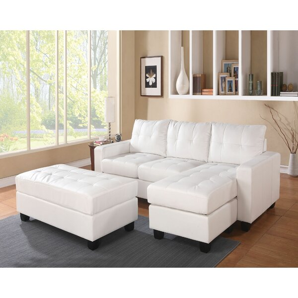 Tanja Reversible Sectional with Ottoman by Latitude Run