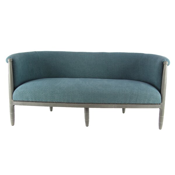 Provencal Modern Cushioned Loveseat by One Allium Way
