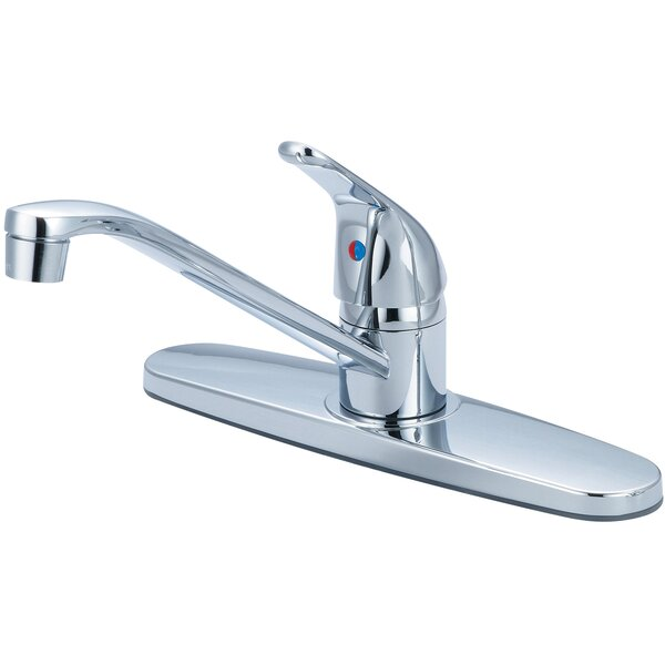 Single Handle Kitchen Faucet by Olympia Faucets
