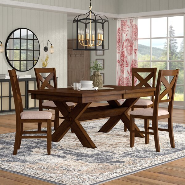 Isabell 5 Piece Dining Set by Laurel Foundry Modern Farmhouse Laurel Foundry Modern Farmhouse